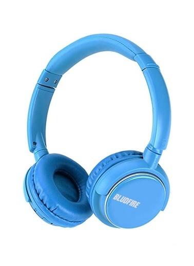 Bludfire HW1 Bluetooth Mikrofonlu Radyo Mp3 Kulaklık Turkuaz